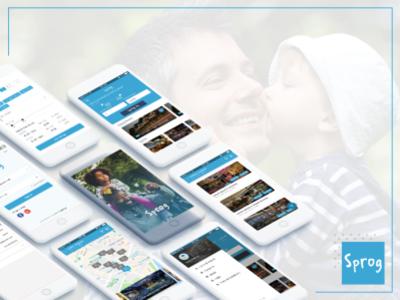 Sprog App art designing ios android development appdevelopment ui design mobile uiux