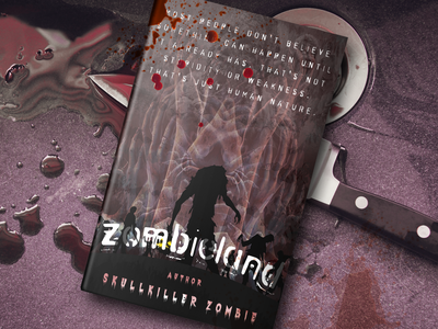 Zombieland Book Cover bookdesign bookcoverpage trend horror reading artwork cover art designing coverpage book