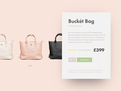 Product Card Widget widget product modal cart card pastel dailyui daily shop ecommerce material