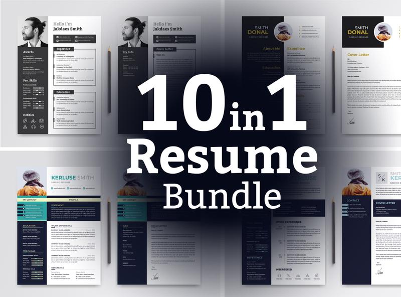 Word Resume Bundle