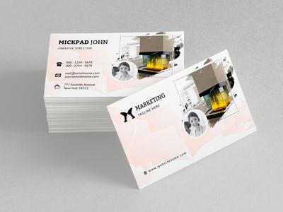 Mickpad John Creative Director Business Card