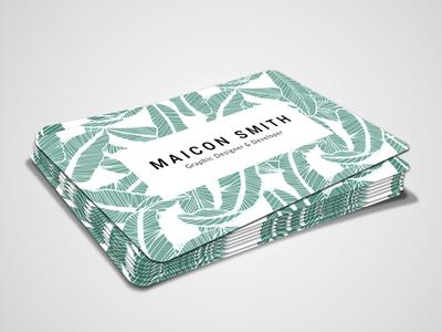 Maicon Smith Graphice Designer Business Card