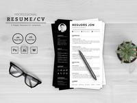 Resudrs Jon Designer & Developer Resume Template