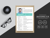 Michal Smith Designer & Developer Resume Template