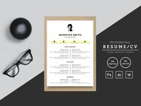 Monoyea Smith Designer & Developer Resume Template