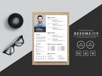 John Kaviens Designer & Developer Resume Template
