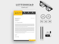 Creative & Modern Letterhead Corporate Identity Template