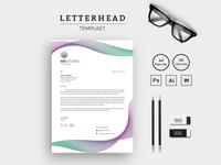 Mix Studio Corporate Letterhead Corporate Identity Template
