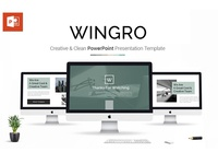 Wingro Presentation PowerPoint Template