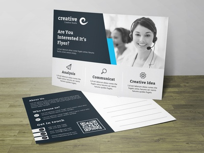 Post Card Corporate Identity Template
