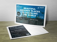 Post Card Travel Corporate Identity Template