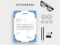 Mix Studio Letterhead vol. 2 Corporate Identity Template