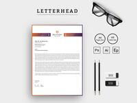 Mix Studio Letterhead Corporate Identity Template