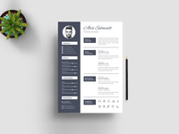 Alex Selmialt Resume Template