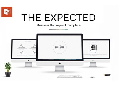 The Expected PowerPoint Template