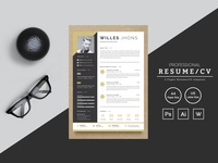 Willes Jhons Resume Template