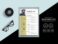 Websed Jon Resume Template