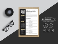 Antohone Robert Resume Template