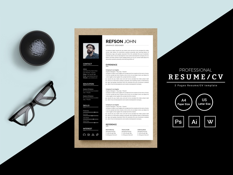 Refson John Resume Template job seekers doctors resume bankers resume manager cv template resume mac pages student resume professional resume modern resume infographic resume word resume creative resume clean resume cv resume
