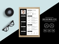 Martien Pitters Resume Template