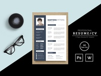Martiens Pitters Resume Template