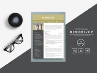 Karanf Doe Word Resume Template
