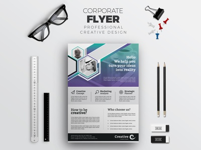 Modern Flyer Corporate Identity Template