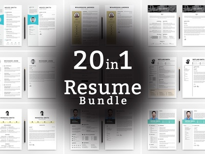 Word Bundle Resume Template