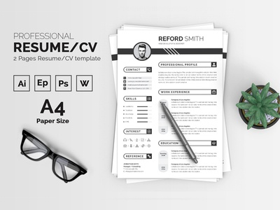 Reford Smith Resume Template
