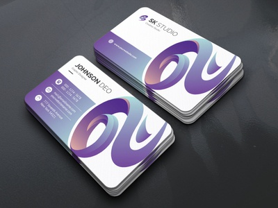 Sk Studio Business Card