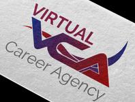 Virtual Career Agency Logo