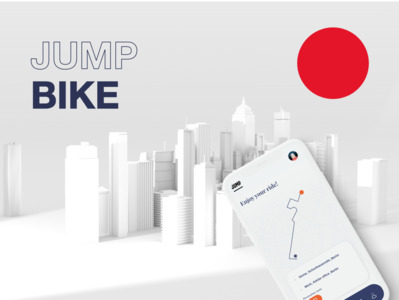 JUMP redesign animation minimal uxdesign citiy navigation mobility augmented reality app uxui ux