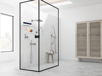 Shower Augmented Reality smart home voice interface voice design shower ux ui augmented reality
