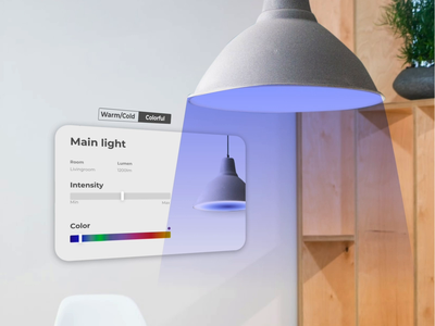 Smart AR prototype animation ux
