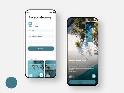 App Travel app interface travel app concept design dailyui animation ux ui