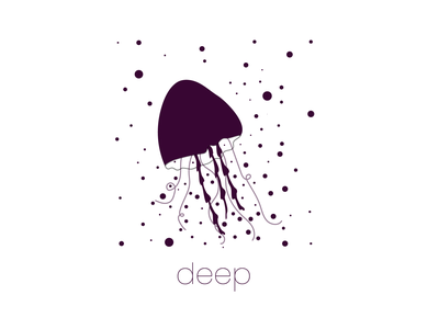 deep deep loumam inktober inktober2017 typography lettering icon minimal vector sketch illustrator illustration graphism design art