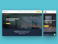 Amalia Glass - Company Profile Website