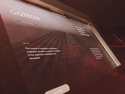 Matyushenko & Partners. desktop website motion design animation black interaction typography web ux ui minimal