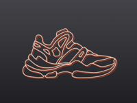 Concept Shoes Illustration