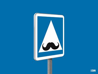 Mustache freelance digital art illustrator illustration mustache