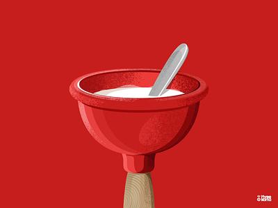 Bowl digital art freelance illustrator illustration bowl