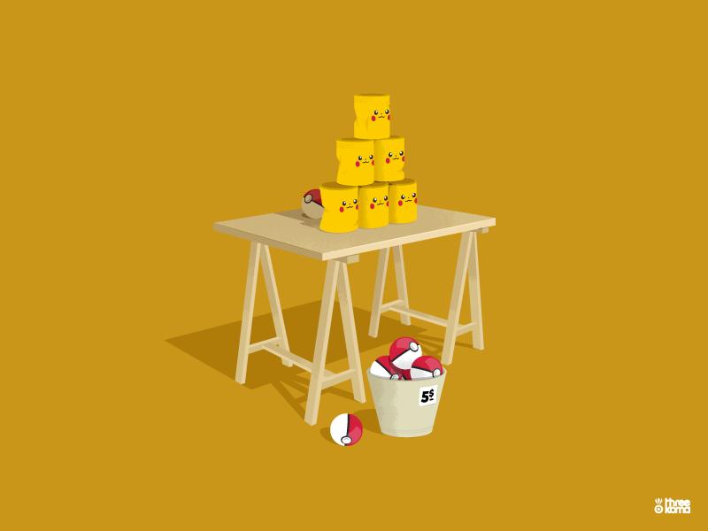 Coconutshy pokemon pokeball pikachu jeux video graphicdesigner graphicdesign threekoma rouen vector digital art freelance illustrator graphic designer illustration graphic design graphiste