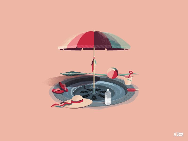 """Bung"" graphicdesigner graphicdesign threekoma rouen vector digital art freelance illustrator graphic designer illustration graphic design graphiste"