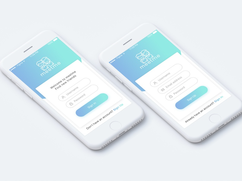 Sign Up Form gradient mobile app dailyui001 dailyui signupform webdesign design ux ui