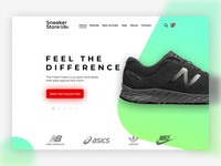 Sneaker Store Main Page