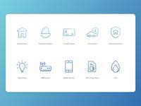 Financial Comparison Icon Suite