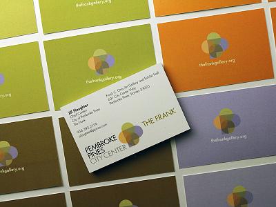 Art Gallery logo/branding – business cards business cards branding logo randy burman ikon