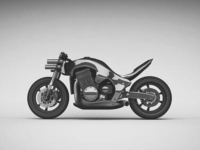TAURUS ONE bike motorcykle 3d