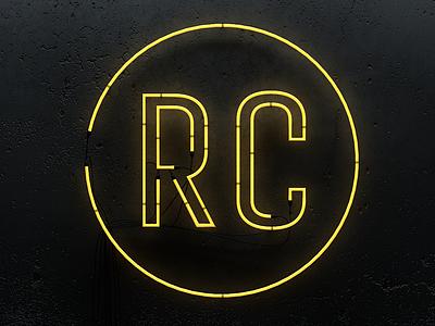 RC - Neon 3d cinema 4d neon sign