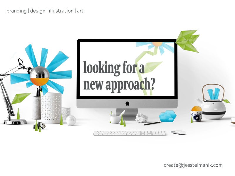 New Perspectives origami stock photo adobe photoshop cc branding advertising graphic design digital adobe sketch adobe illustrator illustration